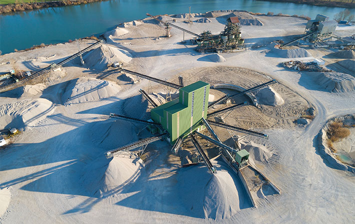 NHI serves the conveyor and aggregate industry